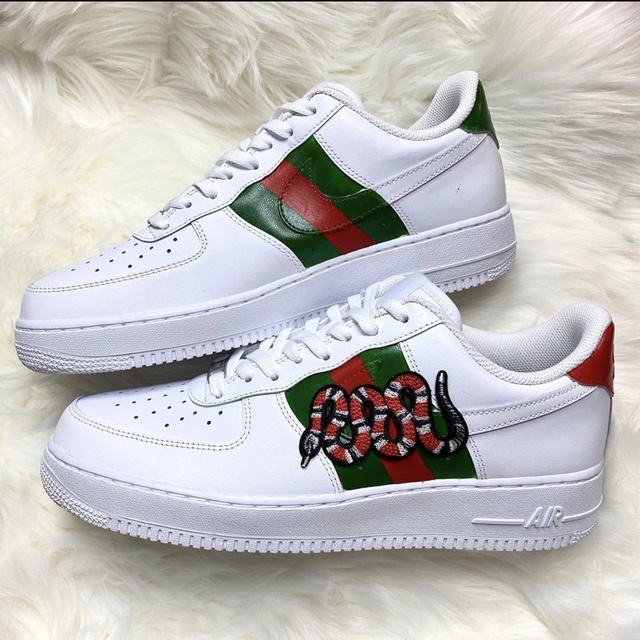 Gucci Snake Nike Air Force 1