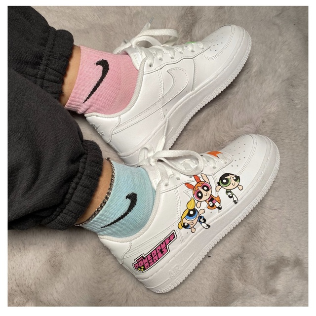 PowerPuff Girl Mike Air Force 1