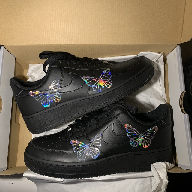 HOLOGRAPHIC BUTTERFLY AIR FORCE 1'S