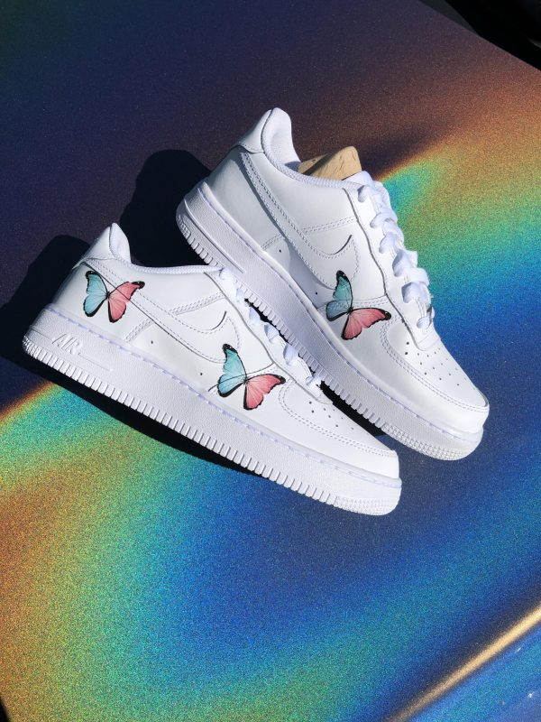 Two tone Butterfly Forces