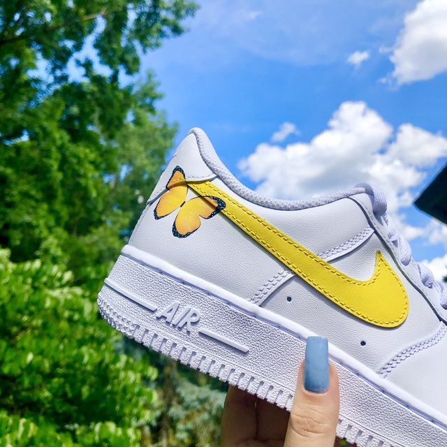 YELLOW BUTTERFLY AIR FORCE 1??