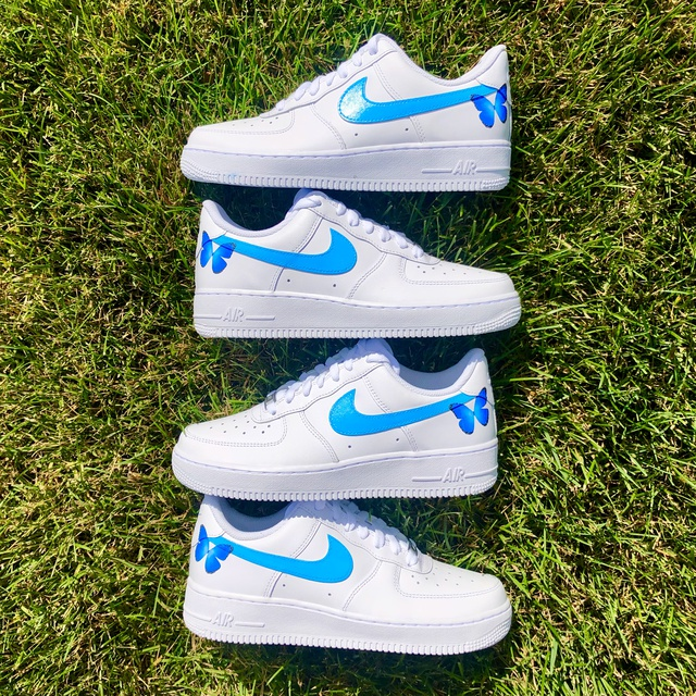 BLUE BUTTERFLY AIR FORCE 1?✨