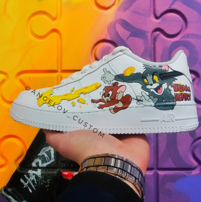 """AIR FORCE 1 LOW """"TOM AND JERRY"""""""