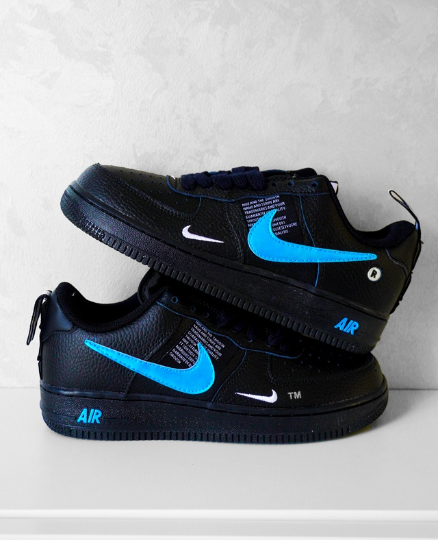 Nike Air Force 1 - Iridescent Blue