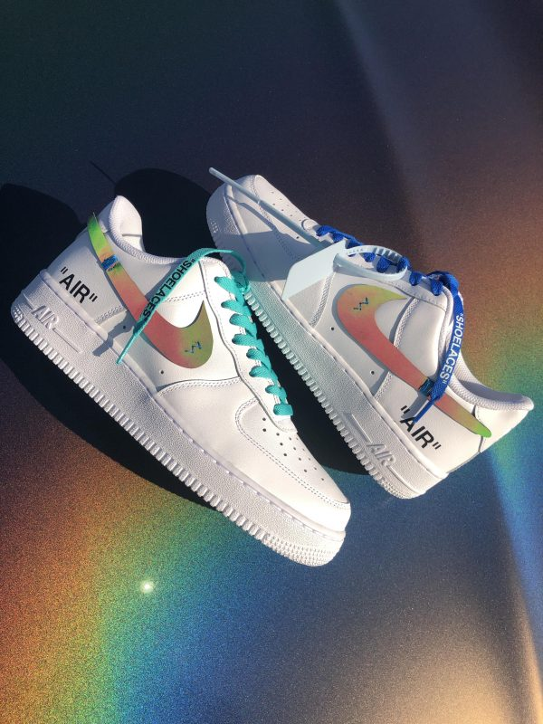 Air Force 1 x Off White reflective