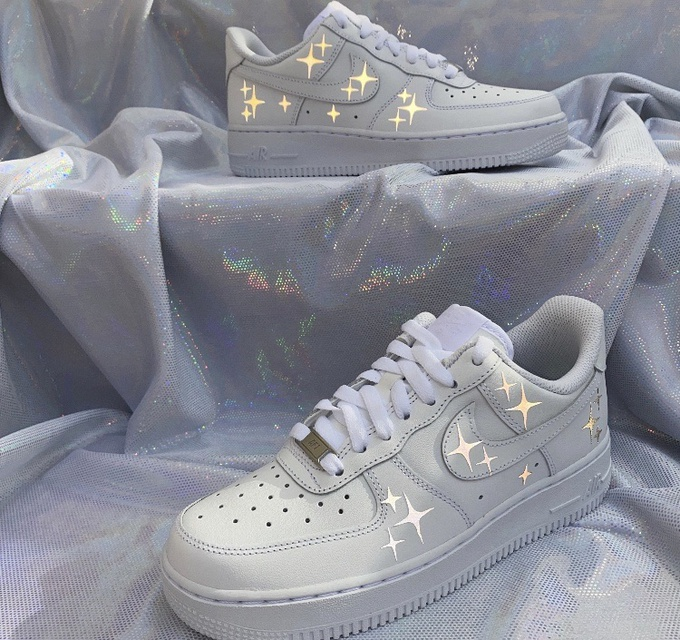 Nike AirForce 1 Reflective sparkles
