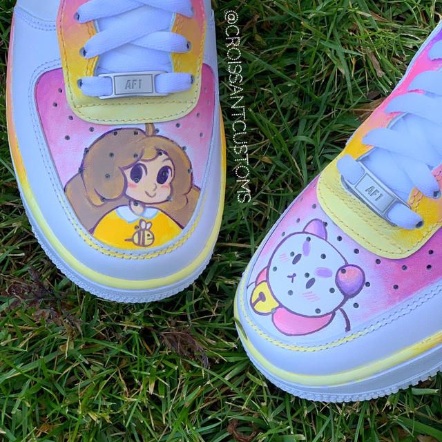 Bee and Puppycat Air Force 1