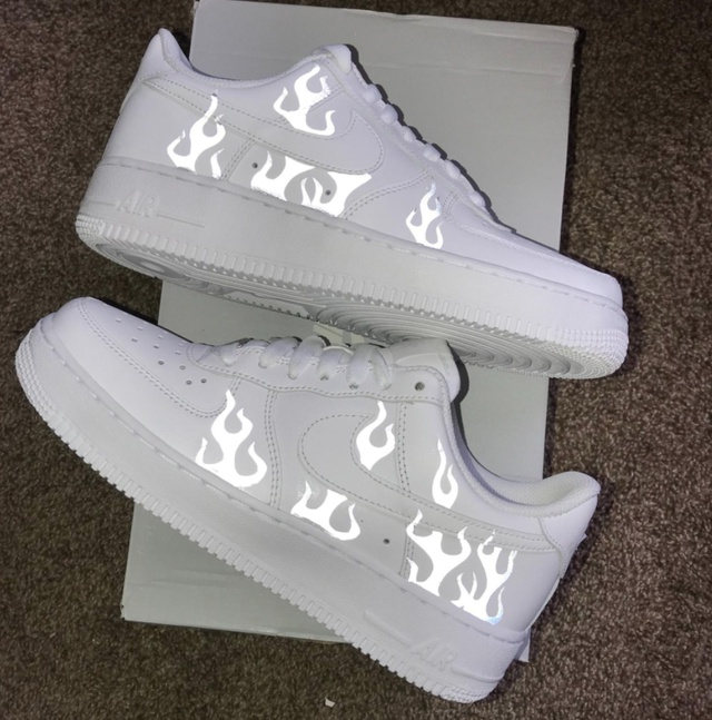 FLAME AIR FORCE 1 REFLECTIVE