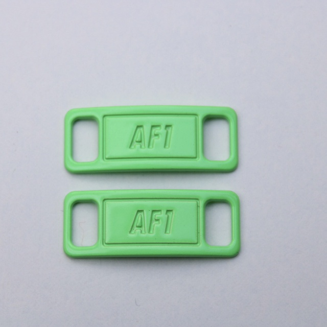 3pack Bright Green, Yellow & Orange Nike Air Force 1 Tags